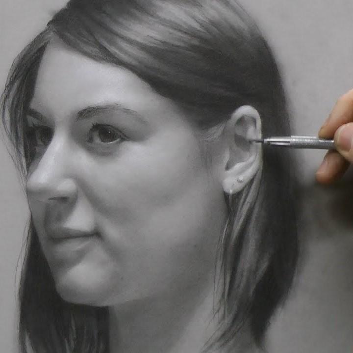 gezicht tekenen