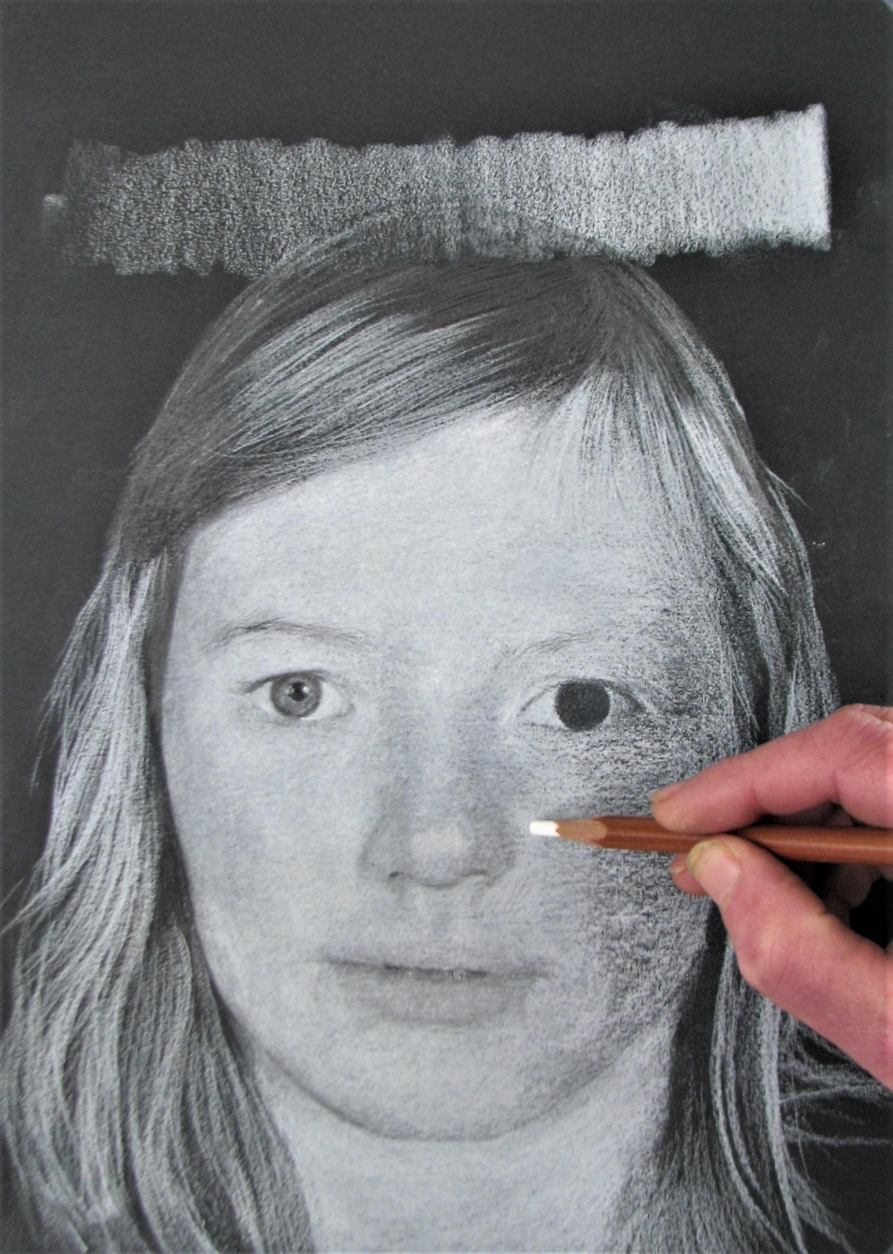 Extra tips en tricks om je kunstwerk nog te verfijnen? Dat leer je in onze vervolmakingscursussen Potrettekenen voor gevorderden. Cursus fotorealistisch portrettekenen gevorderden.