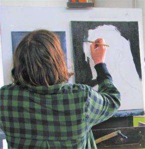 Portretschilderen gevorderden