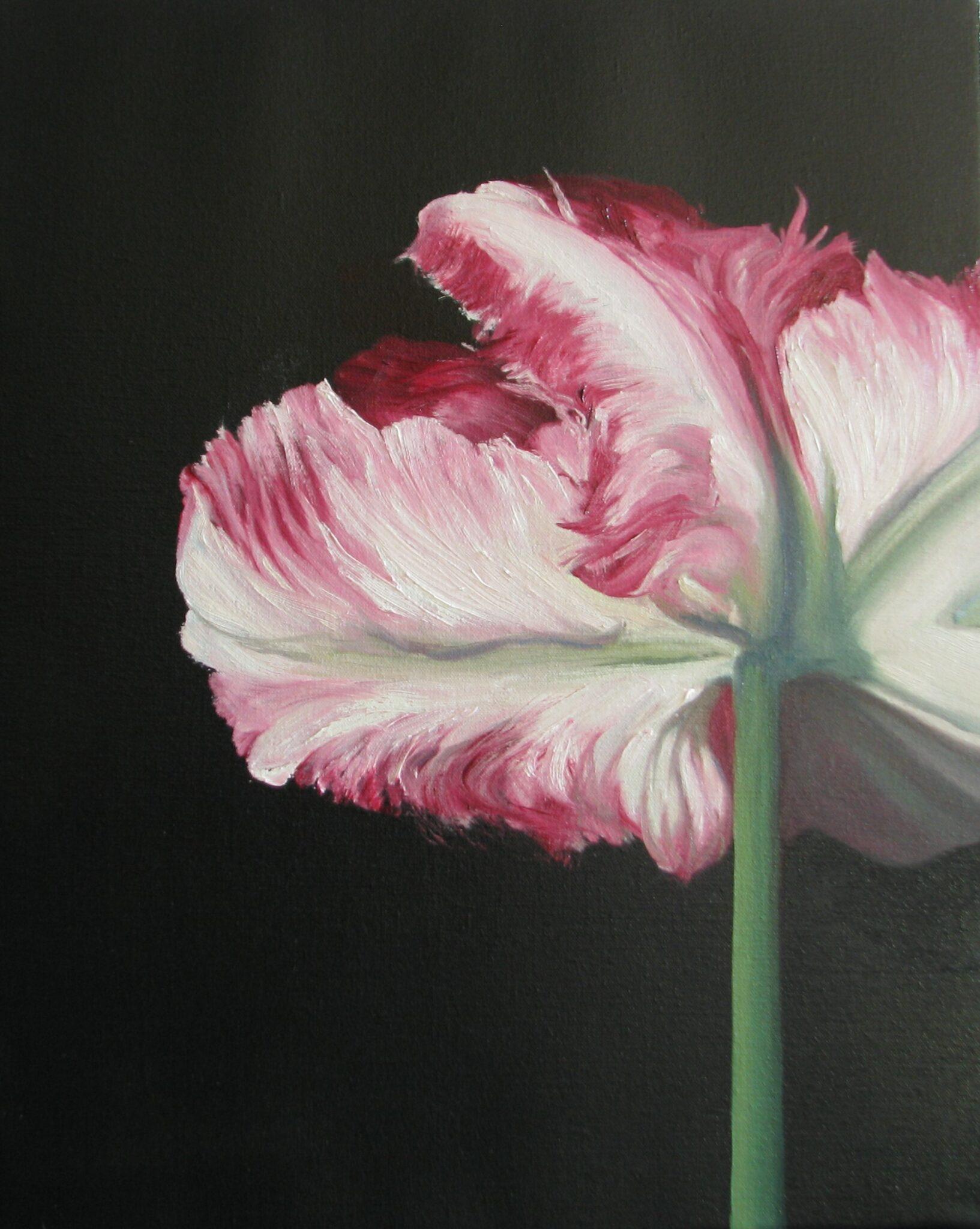 Basis bloemschilderen Altijd al een realistisch bloemschilderij willen maken maar je weet niet hoe te beginnen